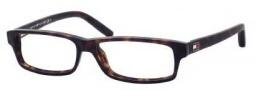 Tommy Hilfiger 1061 Eyeglasses Eyeglasses - 0086 Dark Havana