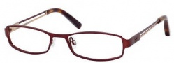 Tommy Hilfiger 1071 Eyeglasses Eyeglasses - 0E28 Semi Matte Burgundy / Red Gold