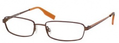 Tommy Hilfiger 1072 Eyeglasses Eyeglasses - 00Z1 Matte Brown / Orange
