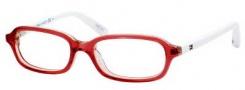 Tommy Hilfiger 1078 Eyeglasses Eyeglasses - 0W0W Red White