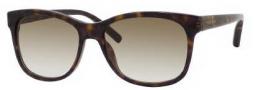 Tommy Hilfiger 1985/S Sunglasses Sunglasses - 0086 Dark Havana (DB Brown Gray Gradient Lens)