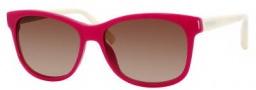 Tommy Hilfiger 1985/S Sunglasses Sunglasses - 0UOD Dark Pink Cream (DB Brown Gradient Lens)