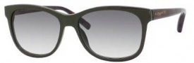 Tommy Hilfiger 1985/S Sunglasses Sunglasses - 0UOE Khaki Dark Havana (lF Brown Gradient Azure Lens)