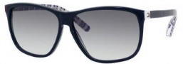 Tommy Hilfiger 1044/S Sunglasses Sunglasses - 00Y1 Blue (JJ Gray Gradient Lens)