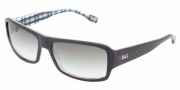 D&G DD3060 Sunglasses Sunglasses - 17758E Sea Blue on Check / Green Gradient