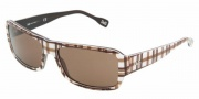 D&G DD3060 Sunglasses Sunglasses - 177673 Check on Brown / Brown