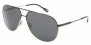 D&G DD6076 Sunglasses Sunglasses - 101687 Black Gradient on Pale Gray / Gray