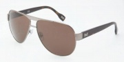 D&G DD6080 Sunglasses Sunglasses - 090/73 Gunmetal /  Brown