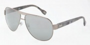 D&G DD6080 Sunglasses Sunglasses - 10716G Gunmetal / Silver Mirror