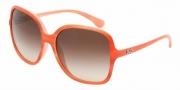 D&G DD8082 Sunglasses Sunglasses - 169113 Orange Watercolor / Brown Gradient