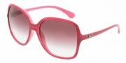 D&G DD8082 Sunglasses Sunglasses - 17638H Fuxia Watercolor / Violet Gradient
