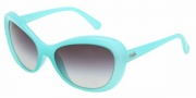 D&G DD8083 Sunglasses Sunglasses - 603/8G Turquoise / Gray Gradient