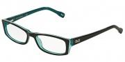 D&G DD1212 Eyeglasses Eyeglasses - 1870 Black Turquoise White