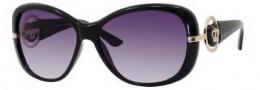 Juicy Couture Scarlet/S Sunglasses Sunglasses - 0D28 Black (GT Gray Gradient Lens)
