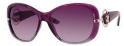 Juicy Couture Scarlet/S Sunglasses Sunglasses - 0EF6 Plum Fade (2G Burgundy Gradient Lens)