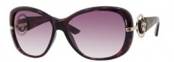 Juicy Couture Scarlet/S Sunglasses Sunglasses - 0V08 Tortoise (YY Brown Gradient Lens)
