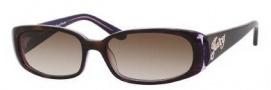 Juicy Couture Sophie/S Sunglasses Sunglasses - 0EW7 Tortoise Purple (Y6 Brown Gradient Lens)