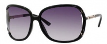 Juicy Couture The Beau/S Sunglasses Sunglasses - 0D28 Black (GT Gray Gradient Lens)
