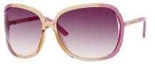 Juicy Couture The Beau/S Sunglasses Sunglasses - 0EV4 Pearl Pink Fade (YY Brown Gradient Lens)