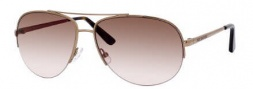 Juicy Couture Platinum/S Sunglasses Sunglasses - 0EQ6 Almond (RN Brown Pink Lens)