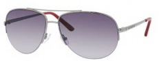 Juicy Couture Platinum/S Sunglasses Sunglasses - 06LB Shiny Ruthenium (Y7 Gray Gradient Lens)