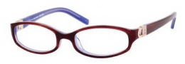 Juicy Couture Splashback Eyeglasses Eyeglasses - 0ETM Horn Purple