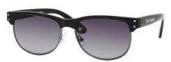 Juicy Couture Epic/S Sunglasses Sunglasses - 0D28 Black Gunmetal (Y7 Gray Gradient Lens)
