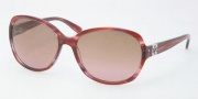 Tory Burch TY7033 Sunglasses Sunglasses - 101414 Pink Tortoise Brown / Rose Fade