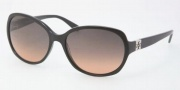 Tory Burch TY7033 Sunglasses Sunglasses - 501/95 Black / Grey Orange Fade