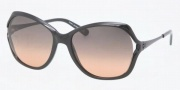 Tory Burch TY7035 Sunglasses Sunglasses - 501/95 Black / Grey Orange Fade
