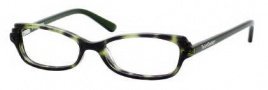 Juicy Couture Georgiana Eyeglasses Eyeglasses - 0JQN Green Leopard
