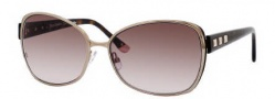 Juicy Couture Glamour/S Sunglasses Sunglasses - 0EQ6 Almond (YY Brown Gradient Lens)