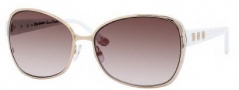 Juicy Couture Glamour/S Sunglasses Sunglasses - 0JHA Gold White (YY Brown Gradient Lens)
