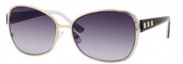 Juicy Couture Glamour/S Sunglasses Sunglasses - 03YG Shiny Light Gold (GT Gray Gradient Lens)