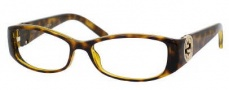 Gucci 3186 Eyeglasses Eyeglasses - 0791 Havana