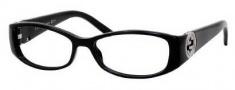 Gucci 3186 Eyeglasses Eyeglasses - 0D28 Shiny Black