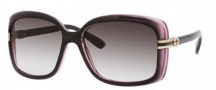 Gucci 3188/S Sunglasses Sunglasses - 00R4 Brown Pink (JS Gray Gradient Lens)