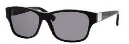 Gucci 3208/S Sunglasses Sunglasses - 0807 Black (BN Dark Gray Lens)