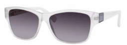 Gucci 3208/S Sunglasses Sunglasses - 0HKN Crystal White (HD Gray Gradient Lens)