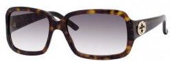 Gucci 3159/S Sunglasses Sunglasses - 0086 Dark Havana (44 Dark Gray Gradient Lens)