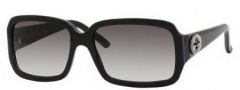 Gucci 3159/S Sunglasses Sunglasses - 0UXO Gray Pearl Black (BD Dark Gray Gradient Lens)