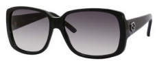Gucci 3161/S Sunglasses Sunglasses - 0SGR Black Diamond (BD Dark Gray Gradient Lens)