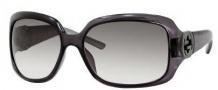 Gucci 3164/S Sunglasses Sunglasses - 0AZU Gray Silver (YR Green Gradient Lens