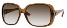 Gucci 3166/S Sunglasses Sunglasses - 0HSD Brown (JS Gray Gradient Lens)