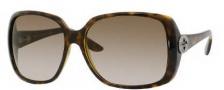 Gucci 3166/S Sunglasses Sunglasses - 0791 Havana (CC Brown Gradient Lens)