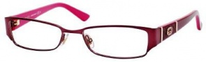 Gucci GG 2910 Eyeglasses Eyeglasses - 0Ml0 Burgundy Red