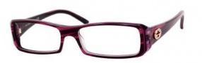 Gucci 3092 Eyeglasses Eyeglasses - 0EPJ Havana Fuchsia