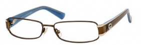 Gucci 2869 Eyeglasses Eyeglasses - 0YAW Brown Havana Blue