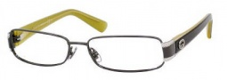 Gucci 2869 Eyeglasses Eyeglasses - 0lRX Dark Ruthenium Gray