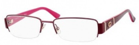 Gucci GG 2878 Eyeglasses Eyeglasses - 0Ml0 Burgundy Red